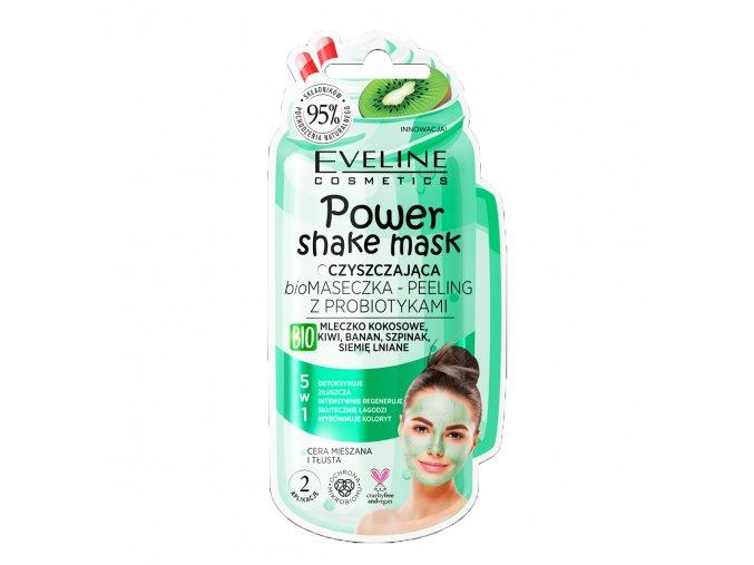 Eveline cosmetics Shake mask čistící s kiwi