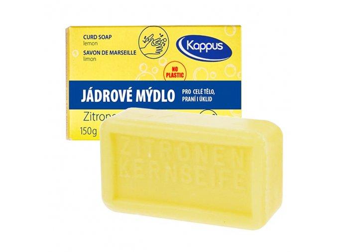 Kappus Jádrové mýdlo CITRON 150 g | evelio.cz