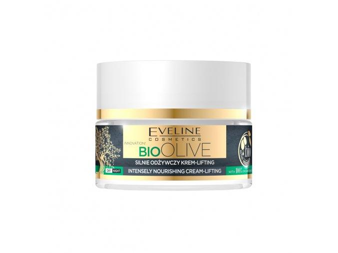 Eveline cosmetics bio OLIVE Silně výživný krém-lifting 50 ml | evelio.cz