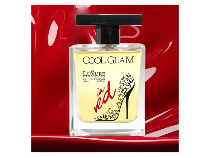 Luxure parfumes Cool Glam in RED8