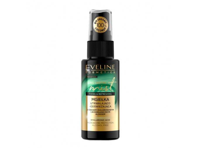 Eveline cosmetics Long-lasting Mist fixační a osvěžující pleťová mlha bio aloe 50 ml | evelio.cz