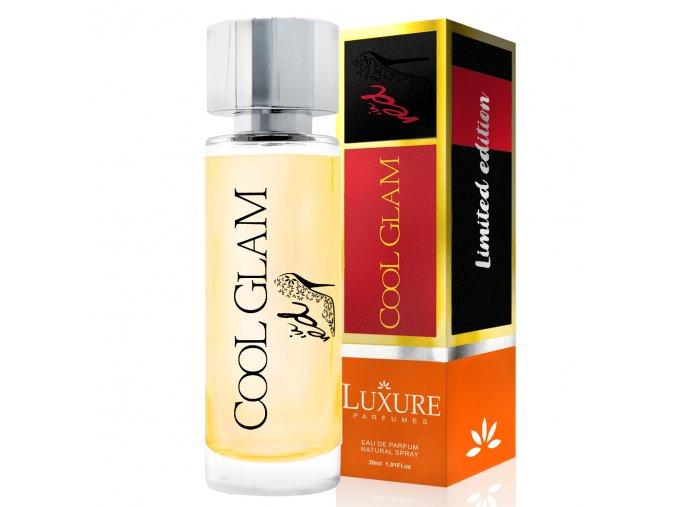 Luxure parfumes COOL GLAM in red parfémovaná voda pro ženy 30 ml   evelio.cz