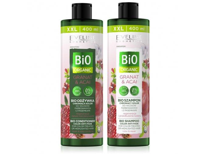 šampon + kondicionré granátové jablko