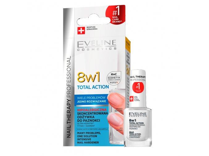 Eveline cosmetics Nail therapy Regenerační výživa na nehty 8v1 | evelio.cz