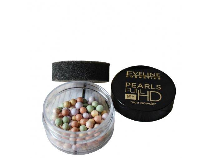 Eveline cosmetics Pearls rozjasňující pudr v kuličkách