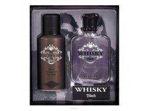 WHISKY BLACK dárková sada  + vozrek parfému zdarma