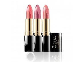 Eveline cosmetics Rtěnka Aqua platinum | evelio.cz