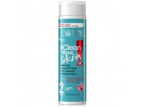 Eveline cosmetics Clean your skin tonikum pro problematickou pleť | evelio.cz
