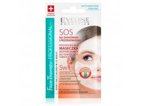 Face Therapy SOS tepelná čisticí maska proti černým tečkám | evelio.cz