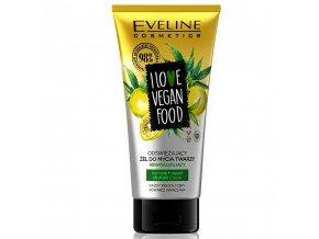 eveline cosmetics I love vegan food osvěžující mycí gel | evelio.cz
