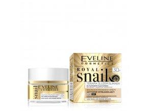 Eveline cosmetics Royal snail 30+ denní / noční pleťový krém | evelio.cz