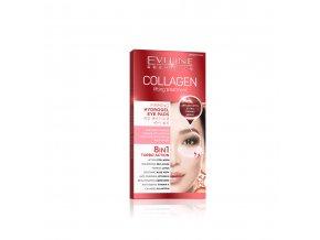 Eveline cosmetics COLLAGEN hydrogelové plátky zpevňující | evelio.cz.