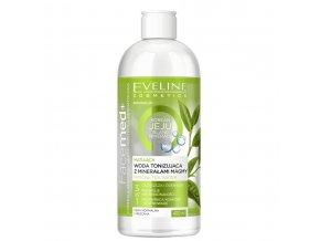 Eveline cosmetics Facemed+ Matující voda korean jeju island minerals | evelio.cz