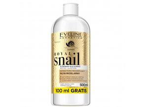Eveline cosmetics Royal snail regenerační micelární voda | evelio.cz