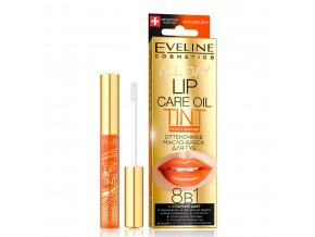 Eveline cosmetics Olej na rty Peach orange | evelio.cz