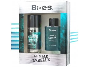Bi es Le Male Rebelle, pánská dárková sada inspirovaná Jean Paul Gaultier | evelio.cz