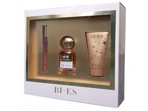 Bi-es No 9, EDT 50 ml, Vaporisater 12 ml, shower gel 50 ml | evelio.cz