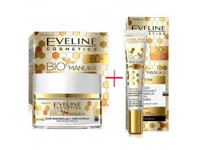 Eveline cosmetics Bio Manuka Výhodná sada pro pleť 60+ | evelio.cz
