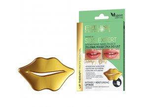 Eveline cosmetics Gold lift Gelová maska na rty 1