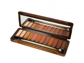 Eveline cosmetics Charming Mocha, paleta očních stínů | evelio.cz