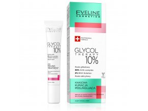 Eveline cosmetics Glycol Therapy Acid peeling treatment | evelio.cz