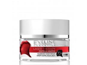 Eveline cosmetics Laser Therapy Omlazující krém 70+, pleťový krém | evelio.cz