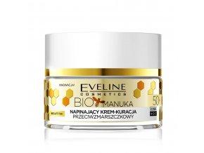 Eveline cosmetics Bio Manuka Pleťový krém 50+ | evelio.cz