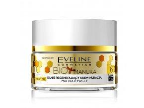 Eveline cosmetics Bio Manuka Pleťový krém 60+ | evelio.cz