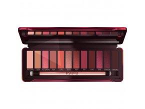Eveline cosmetics Ruby glamour Paletka očních stínů | evelio.cz