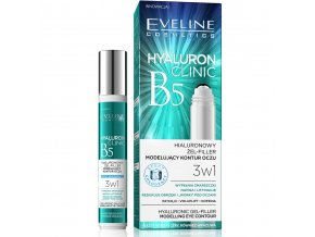 Eveline cosmetics hyaluron clinic roll-on pod oči | evelio.cz