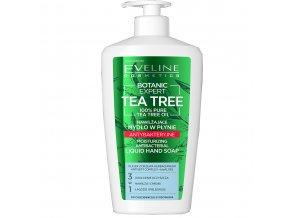 Eveline cosmetics Botanic Expert Tea Tree Hydratační tekuté mydlo na ruce 350 ml
