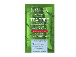 Eveline cosmetics Botanic Expert Tea Tree antibakteriální mýdlo | evelio.cz