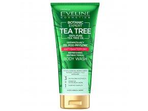 Eveline cosmetics Botanic Expert Tea Tree Osvěžující sprchový gel 250 ml | evelio.cz