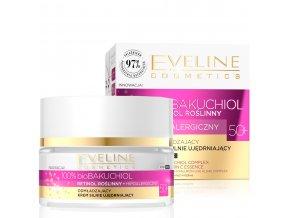 Eveline cosmetics bio BAKUCHIOL 50+ omlazující a zpevňující krém proti vráskám 50 ml | evelio.cz