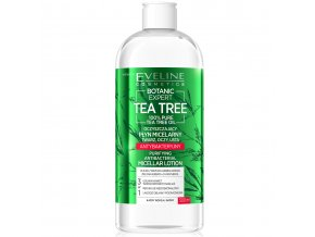 Eveline cosmetics Botanic Expert Tea Tree Micelární tonikum 500 ml | evelio.cz