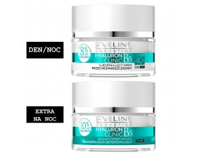 Eveline cosmetics Hyaluron Clinic Sada 40+