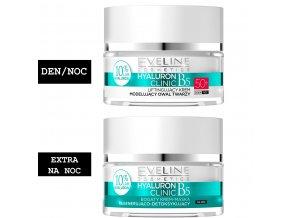 Eveline cosmetics Hyaluron Clinic Sada 50+