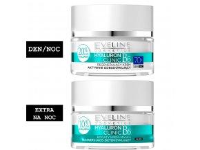 Eveline cosmetics Hyaluron Clinic Sada 70+