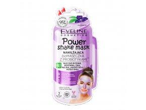 Eveline cosmetics Shake mask hydratační s borůvkou