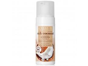Eveline cosmetics Rich Coconut Jemná čistící pěna na tvář 150 ml | evelio.cz