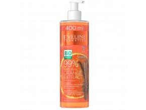 bio organic 99% natural orange extrakt krém gel