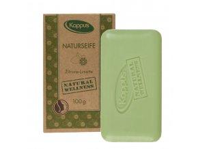 Kappus Natural Soap Přírodní čisticí mýdlo citron & limetka 100 g | evelio.cz