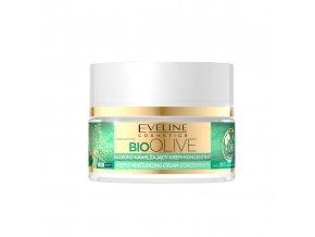 Eveline cosmetics bio OLIVE Hluboce hydratační pleťový krém 50 ml | evelio.cz