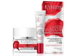 AKCE Eveline Laser Therapy Sada pleťový krém + oční krém 60+ | evelio.cz