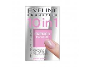 Eveline cosmetics Nail Therapy Terapie Nehtová výživa odstín FRENCH MANICURE 5 ml | evelio.cz