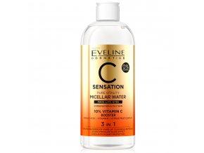 Eveline cosmetics C SENSATION Micelární odličovací voda s vitamínem C 400 ml