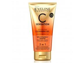 Eveline cosmetics C SENSATION revitalizační čistící gel 3v1 150 ml | evelio.cz