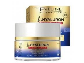 Eveline cosmetics bio HYALURON 3X RETINOL Multi-výživný silně vyživující pleťový krém 60+ den/noc 50 ml