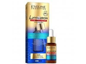 Eveline cosmetics bio HYALURON 3X RETINOL Multi-hydratační sérum vyplňující vrásky 18 ml | evelio.cz