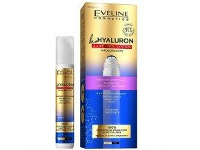 Eveline cosmetics bio HYALURON 3X RETINOL Protivráskový oční roll-on 15 ml | evelio.cz